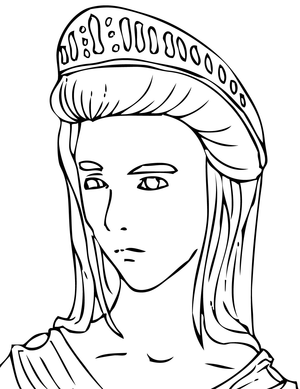 ancient greek coloring pages - photo#11