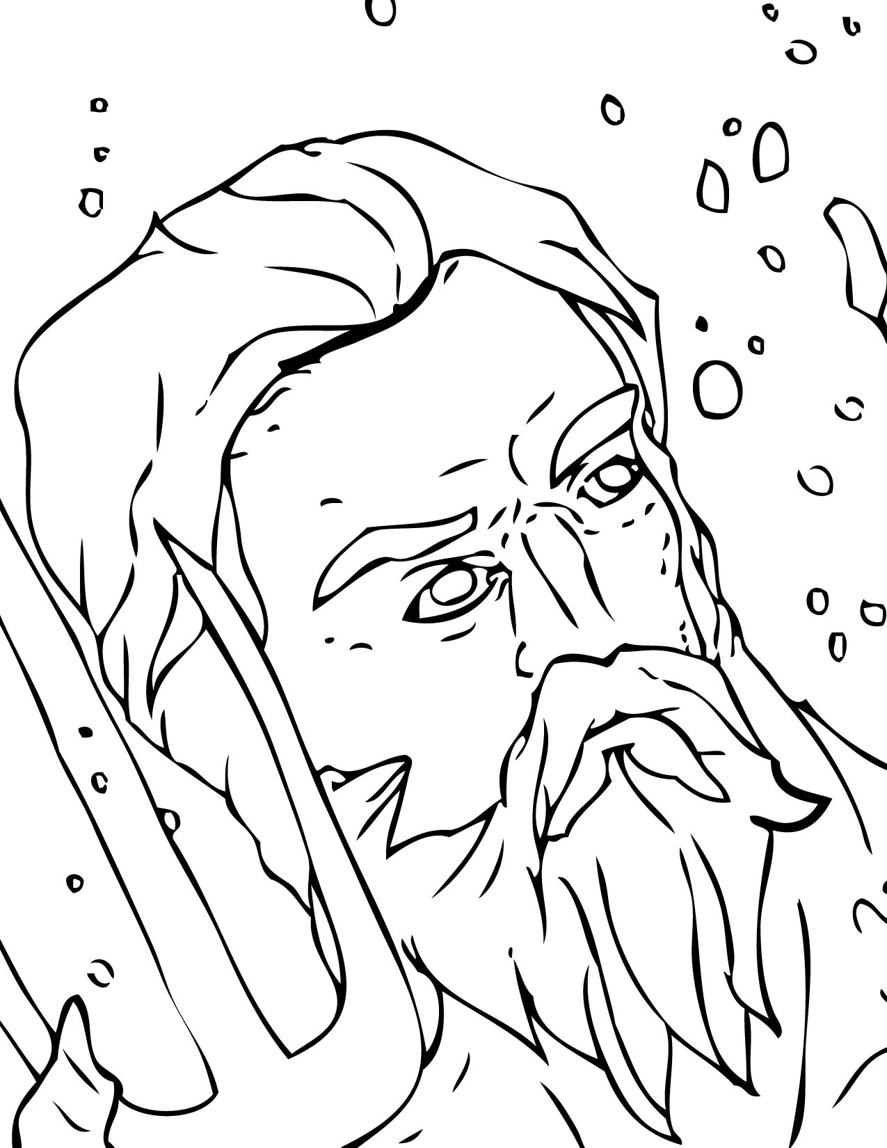 Coloring Pages Greek Goddess Coloring Pages ancient greek gods coloring pages handipoints posideon
