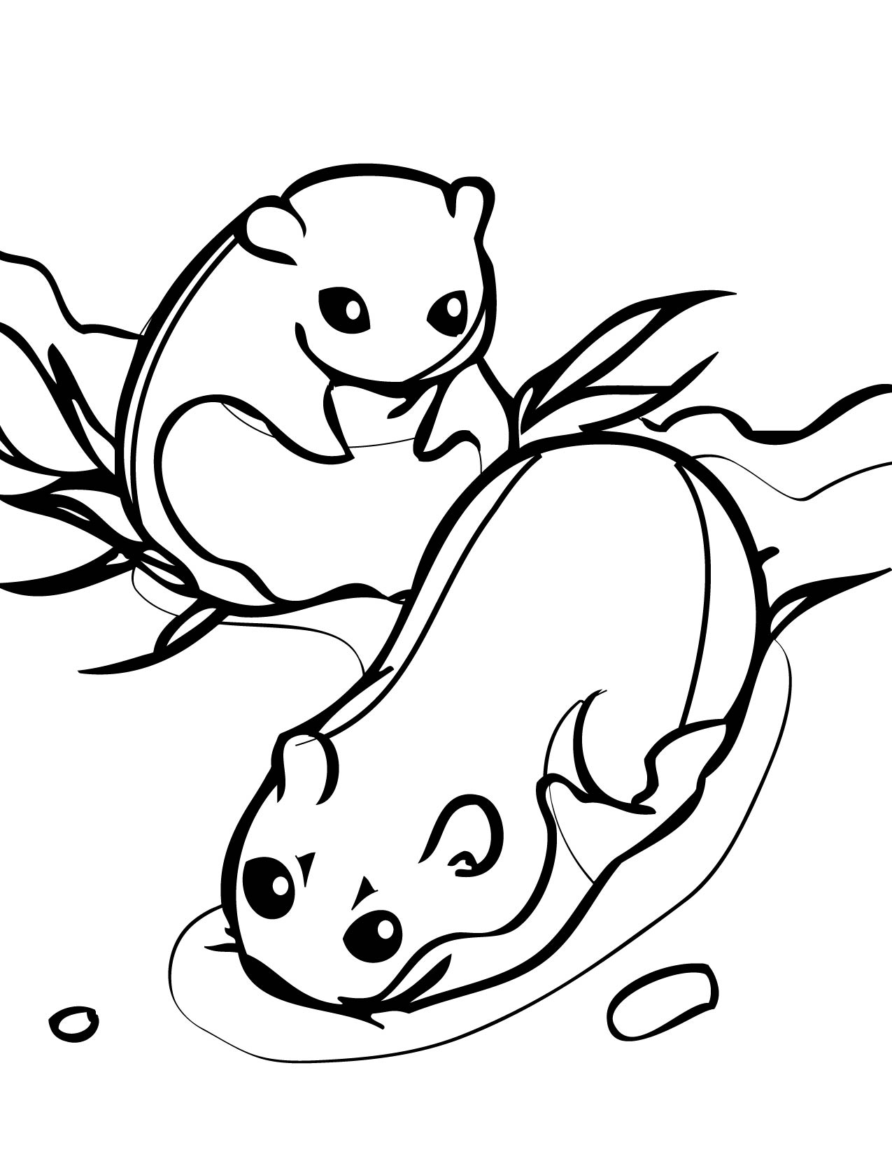 Lemming Coloring Page