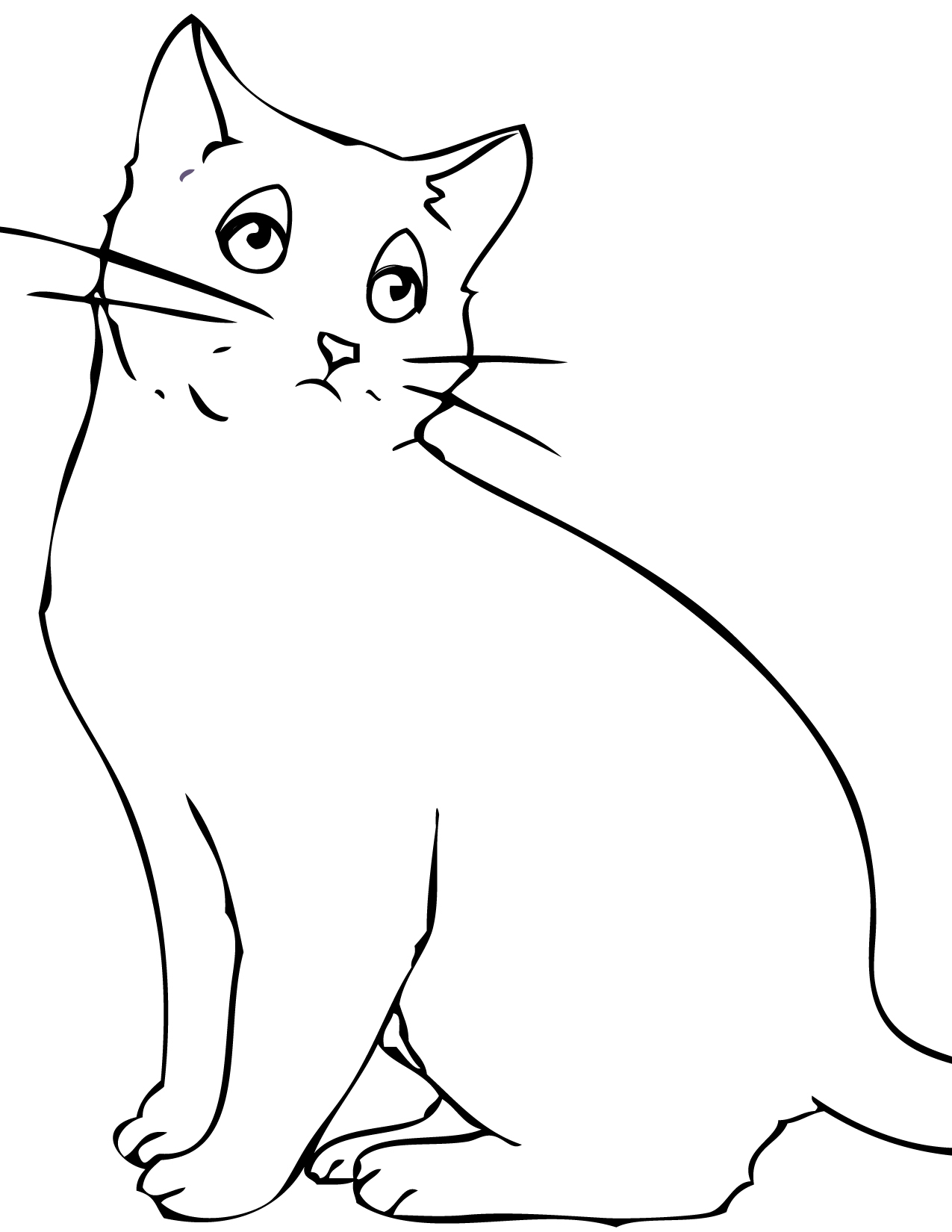 Bombay Coloring Page