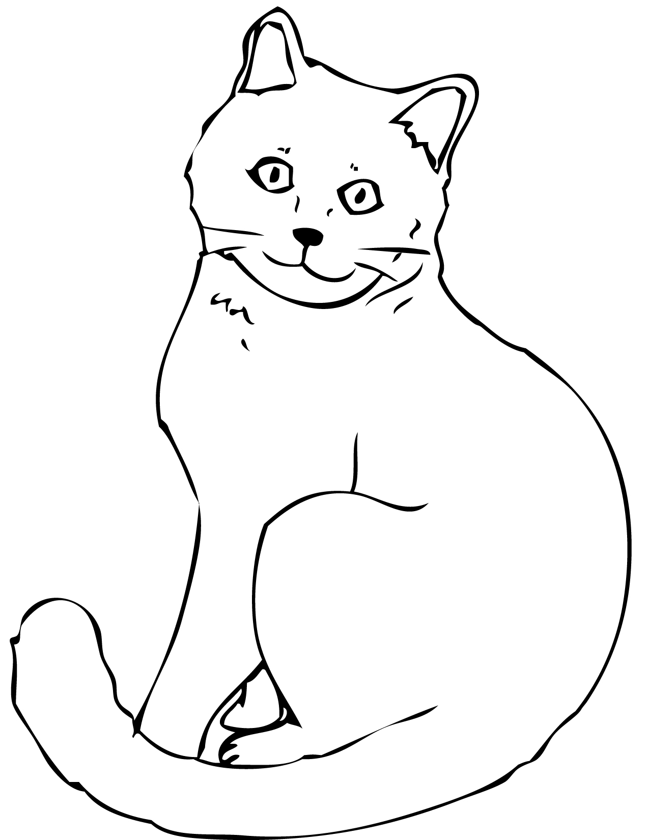 Chartreux Coloring Page