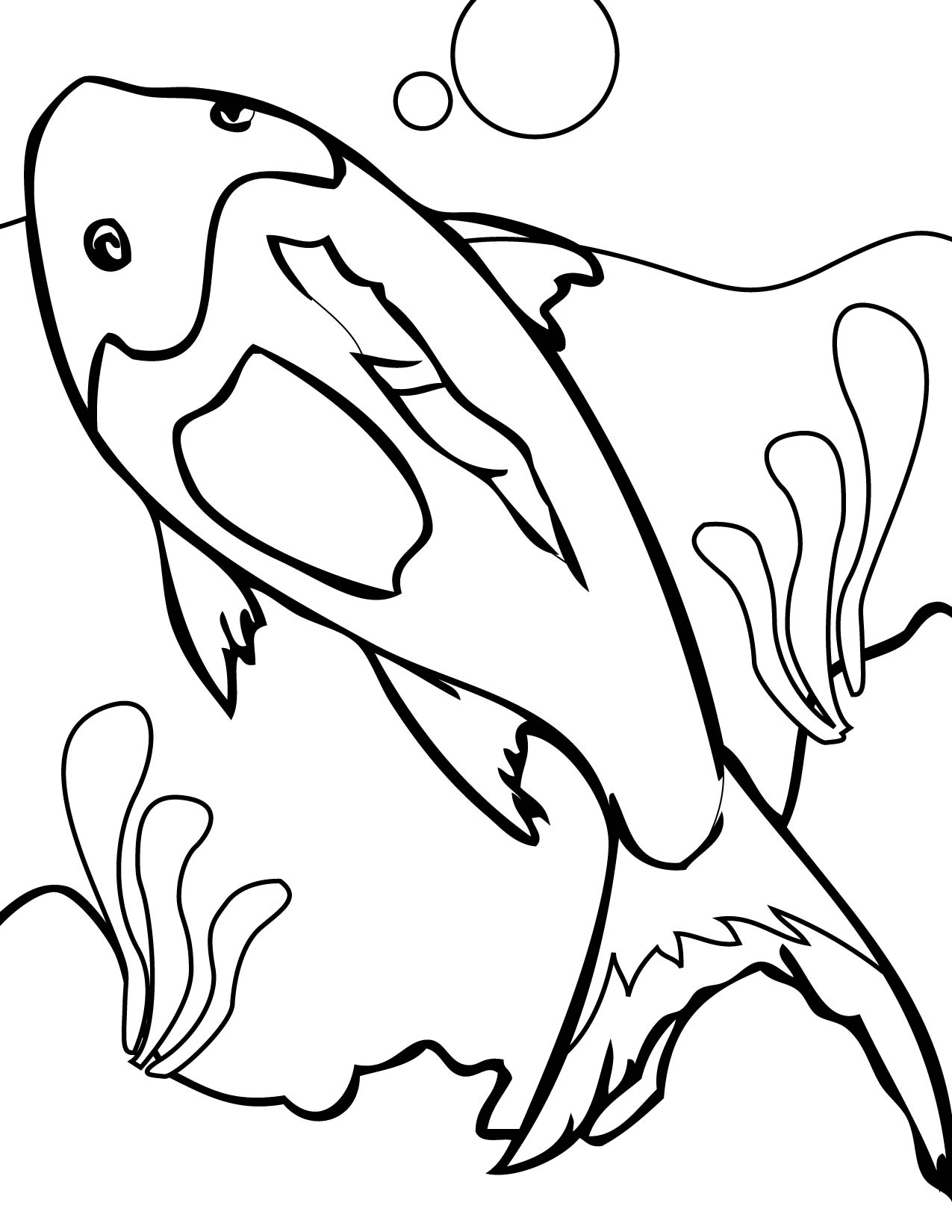 coral reef coloring book pages - photo#27