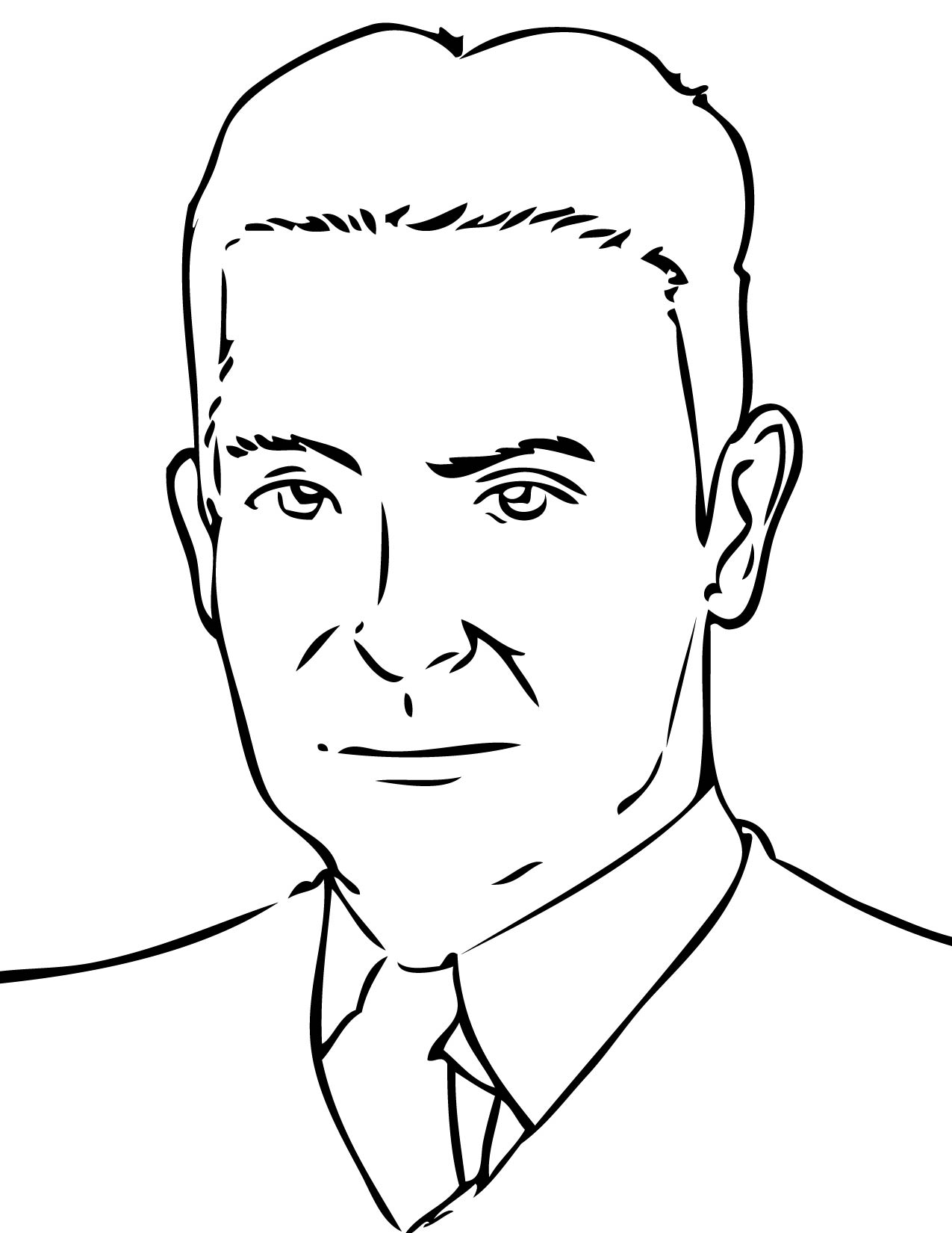 f scott fitzgerald coloring page handipoints