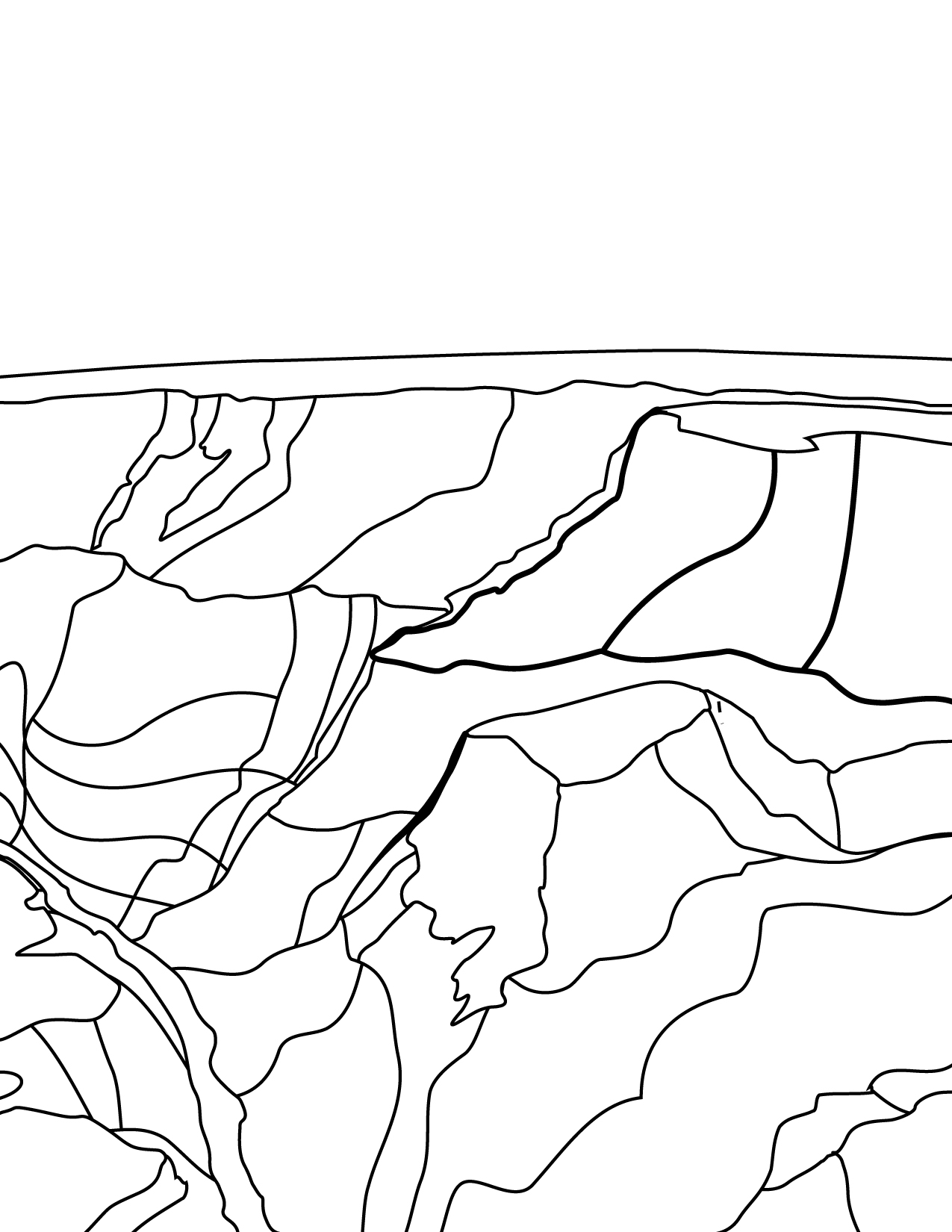 parks coloring pages coloring pages grand canyon