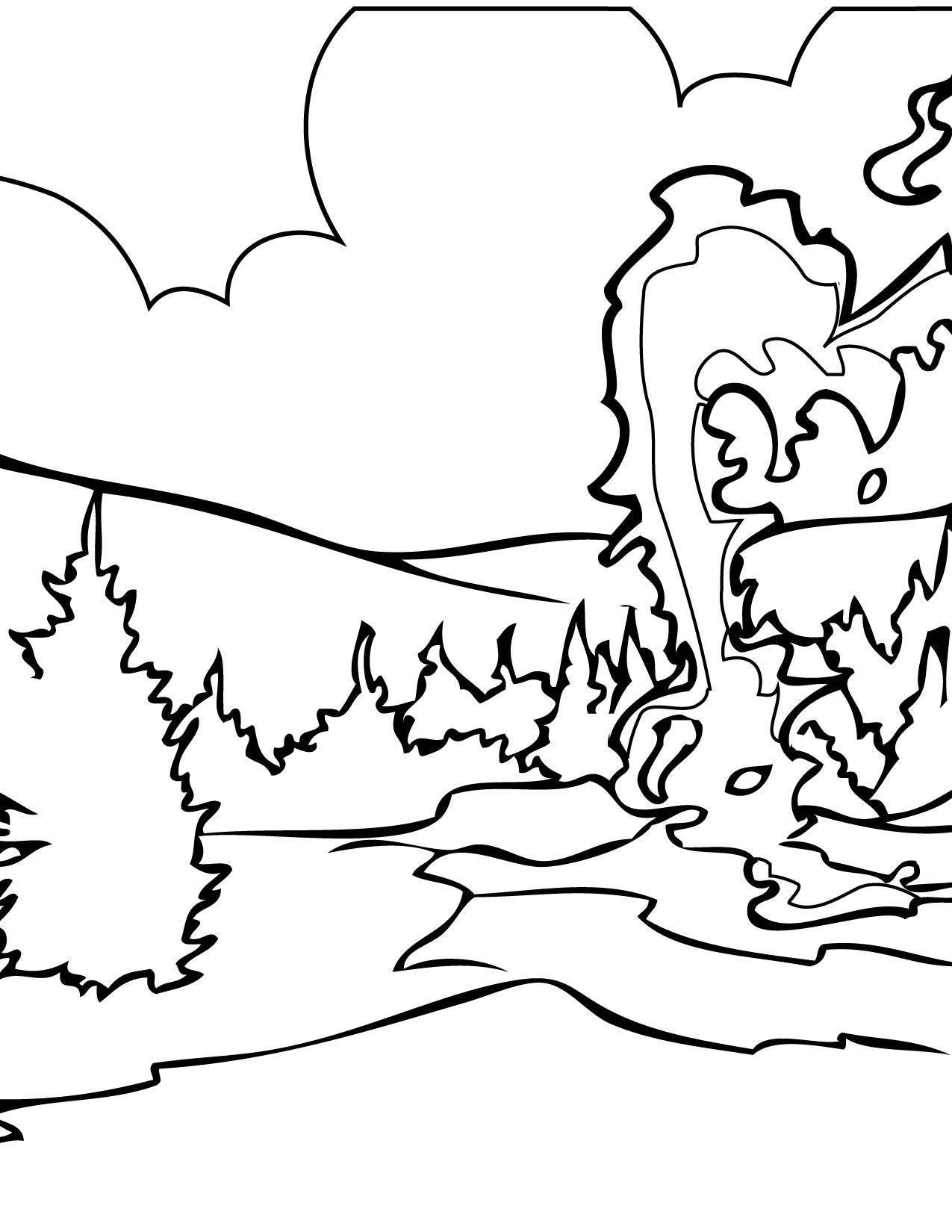 yellowstone national park coloring pages - everglades national park coloring page sketch coloring page
